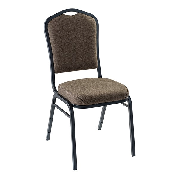 9300 Stack Chair - Natural Taupe/Black
