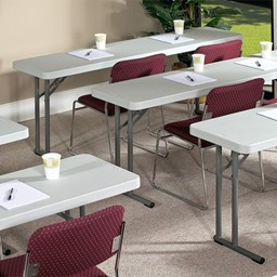 Lightweight Plastic Folding Training Table