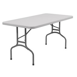 Lightweight Plastic Top Folding Training Table