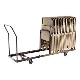 National Public Seating Dolly For Folding Chairs Holds Up
