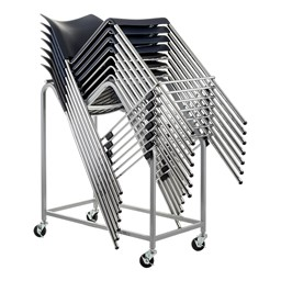 Dolly for 8700 & 8800 Cafetorium Bar Stools - Shown Loaded (Stools not included)