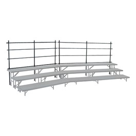 NPS Tapered Riser Guardrail