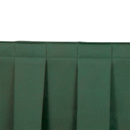 Box Pleat Stage Skirting - Hunter Green