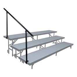 Side Riser Guardrail - Three Levels