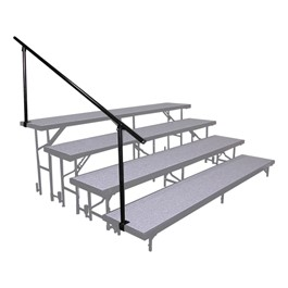 Side Riser Guardrail - Four Levels