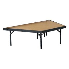 Pie-Shaped Riser Unit w/ Hardboard Deck