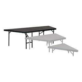 Pie-Shaped Riser Unit w/ Carpet Deck