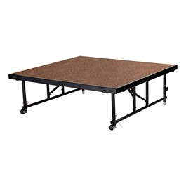 """Transfix Adjustable-Height Portable Stage w/ Hardboard Deck (24\"""" or 32\"""" )"""