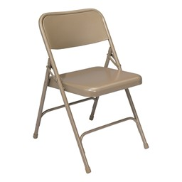 200 Series Steel Folding Chair - Beige