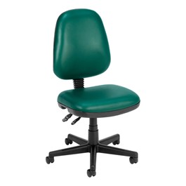 Antimicrobial Vinyl Task Chair - Teal