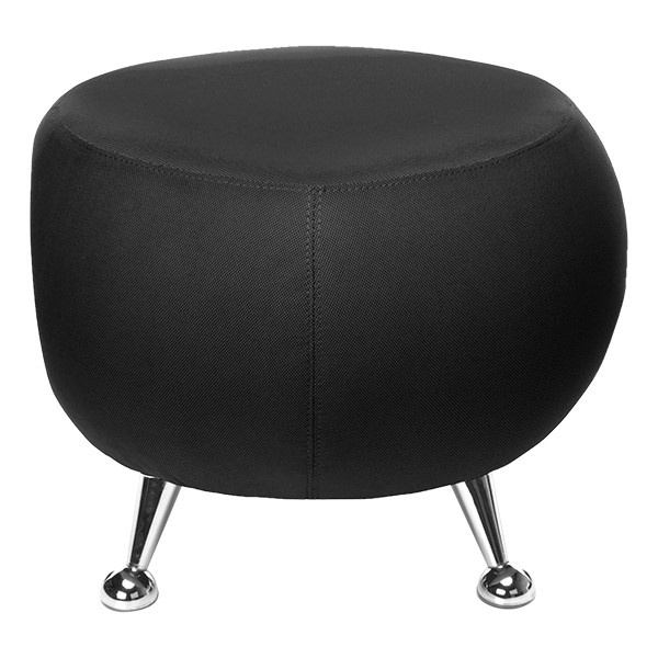 Jupiter Stool - Black - Front