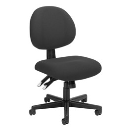 24-Hour Multi-Shift Task Chair w/ out Arm Rests - Charcoal