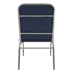 ComfortClass Anti-Microbial Heavy-Duty Vinyl Stack Chair - Back view