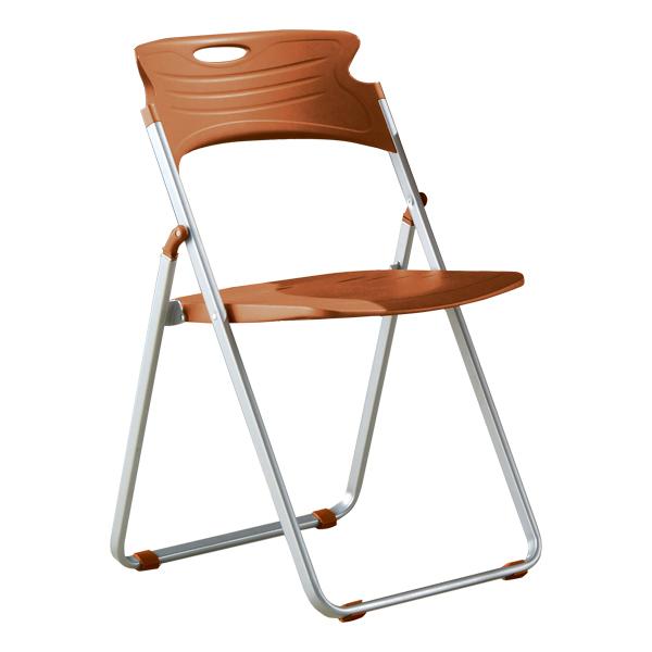 ... Heavy Duty Plastic Folding Chair   Caramel ...