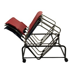Stack up to 25 chairs