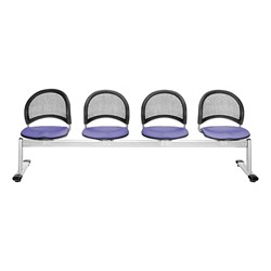 Moon Series Beam Seating - Four Seats w/ out Table - Lavender