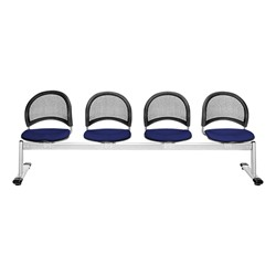 Moon Series Beam Seating - Four Seats w/ out Table - Navy