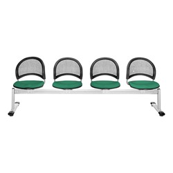 Moon Series Beam Seating - Four Seats w/ out Table - Shamrock Green