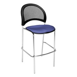 Moon Series Cafe Stool - Colonial Blue
