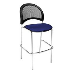 Moon Series Cafe Stool - Royal Blue
