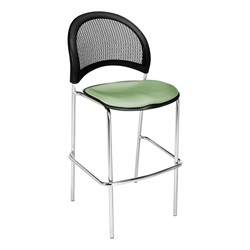 Moon Series Cafe Stool - Sage Green
