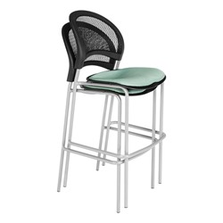 Moon Series Cafe Stool - Shown stacked