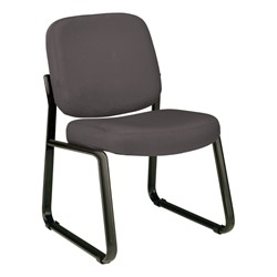 Fabric Waiting Room Chair w/out Arm Rests - Gray