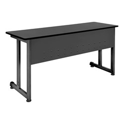 OFM Modular Training Table shown in graphite