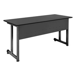 Modular Training Table shown in graphite