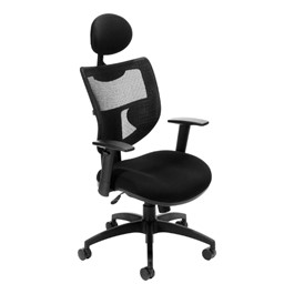 ComfySeat Mesh Ergonomic Task Chair – High Back