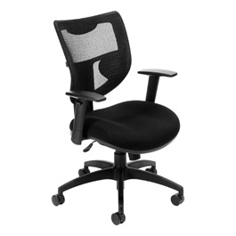 ComfySeat Mesh Ergonomic Task Chair - Mid Back