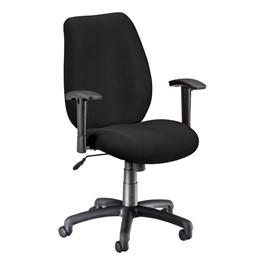 Ergonomic Adjustable Office Chair - Ebony