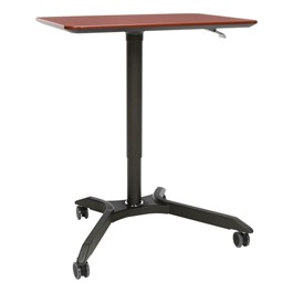 Mesa Series Height-Adjustable Mobile Desk/Podium
