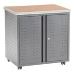 Utility, Fax & Copy Storage Cabinet w/ Doors