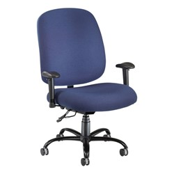 Extra-Large Task Chair w/ Arm Rests - Navy