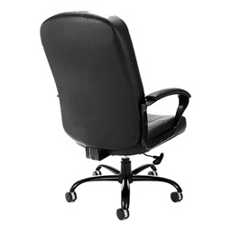 Leather Big & Tall Office Chair - Back view