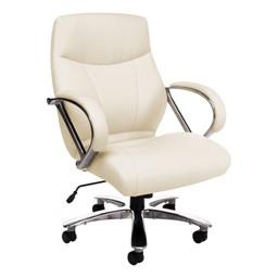 Avengers Series Big & Tall Executive Chair - Mid Back - Cream