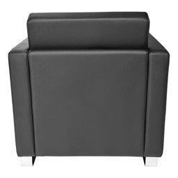 Distinct Series Antimicrobial Lounge Seating - Chair - Back view