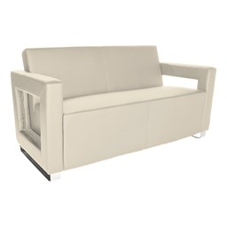 Distinct Series Antimicrobial Lounge Seating - Sofa - Cream