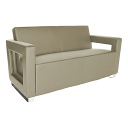 Distinct Series Antimicrobial Lounge Seating - Sofa - Taupe