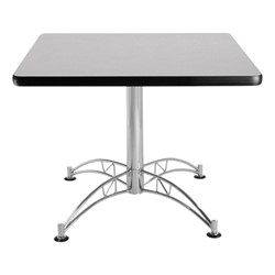 Contemporary Square Café Table - Gray Nebula
