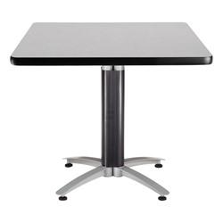 Square Café Table - Gray Nebula