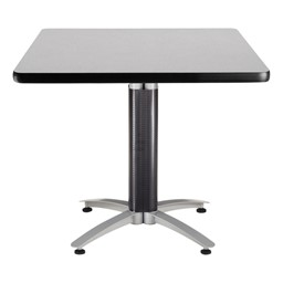 Square Café Table - Gray Nebula