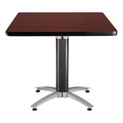 Square Café Table - Mahogany