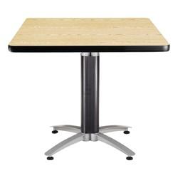 Square Café Table - Oak