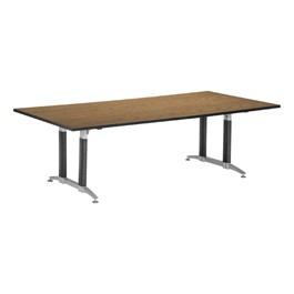 Conference Table w/ Mesh Base<br>Shown in oak