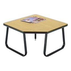 OFM Waiting Room Collection – Corner Table - Oak top