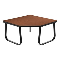 OFM Waiting Room Collection – Corner Table - Mahogany top