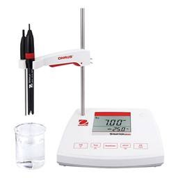 Bench pH Meter w/ Built-In Electrode Arm