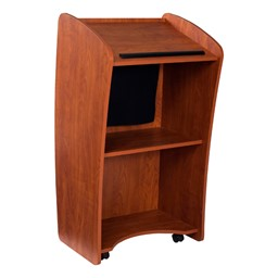 """Vision Lectern w/ 15"""" LCD Monitor & Sound - Back"""